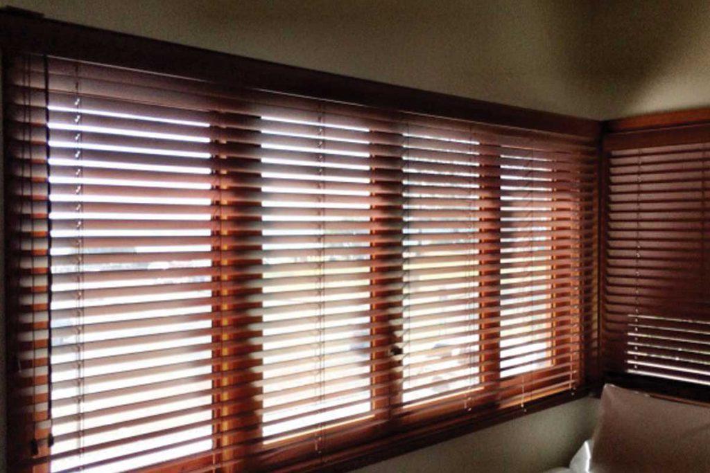 Wood Venetian Blinds Sunshine Coast I