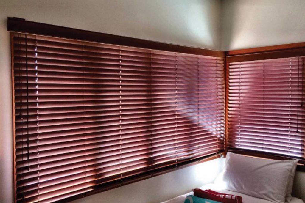 Wood Venetian Blinds Sunshine Coast H